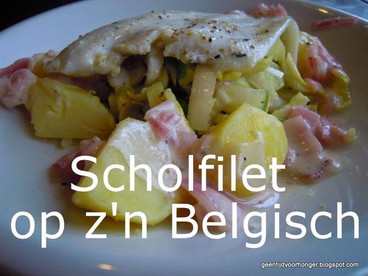 Weight Watchers Recepten (met Propoints of Telvrij/Groen logo): Lekker Belgisch: Scholfilet met witloof-appelslaat...