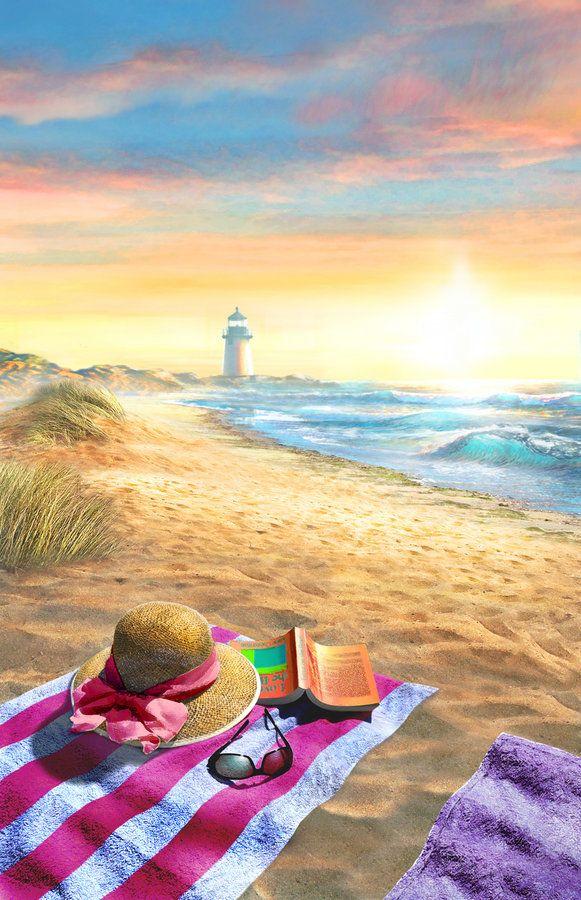 """Nantucket Beach"" by Adrian Chesterman More"