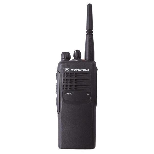 MOTOROLA GP340  Walkie-talkie con identificación de llamada y comunicación de grupo. Transceptor portátil profesional configurable uso libre.  http://tesycom.es/descripcion.php?id_product=510&start=0&strmarques=10,12,9,11,13&strcateg=16