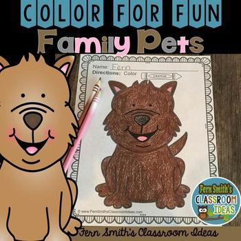 # FREE Color For Fun Malvorlagen zum ausdrucken! Diese Farbe für Spaß ist perfekt für …   – Fern Smith's TeachersPayTeachers Products!