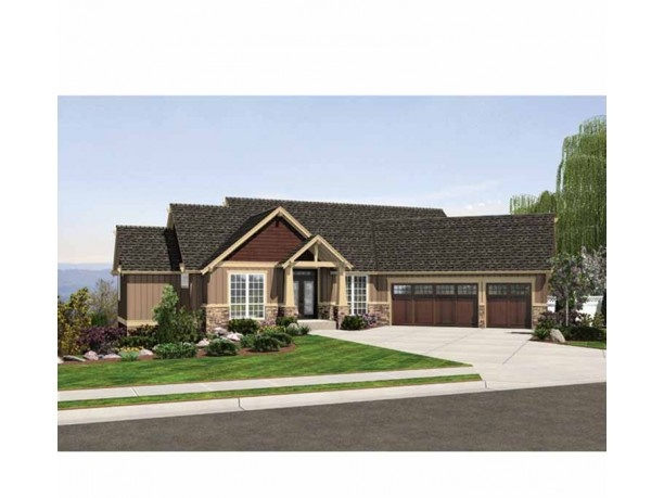 Rambler walkout home plans home design and style for Rambler style homes