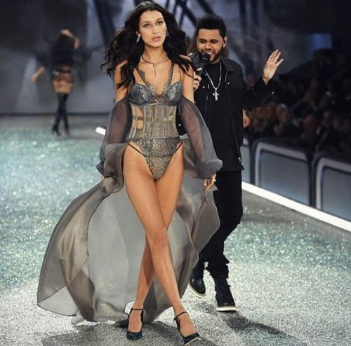 The Weeknd X Bella Hadid @ 2016 Victoria's Secret Fashion Show