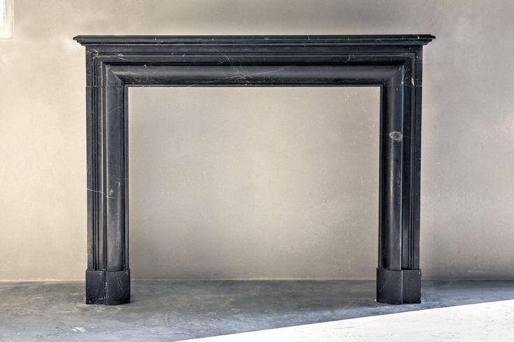 ein wunderschner antiker marmorkamin aus dem marmor boudin wir haben krzlich 10 derselben marmorkamine gekauft - Moderner Kamin Umgibt Kaminsimse