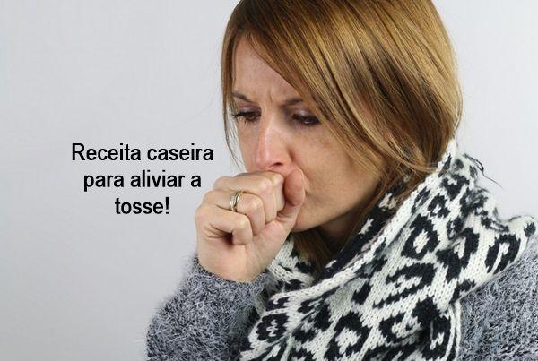 Receita caseira para aliviar a tosse