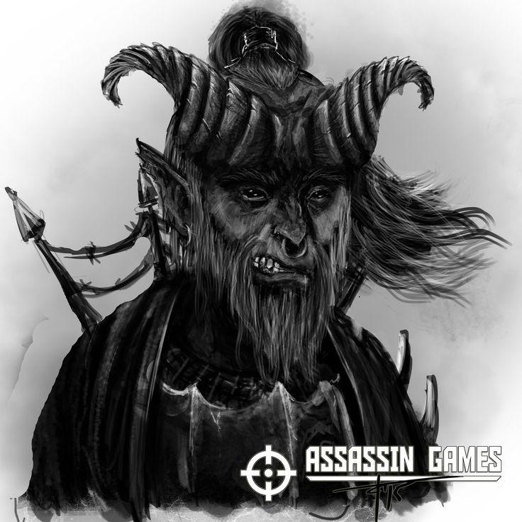Tiefling for Assassin Games