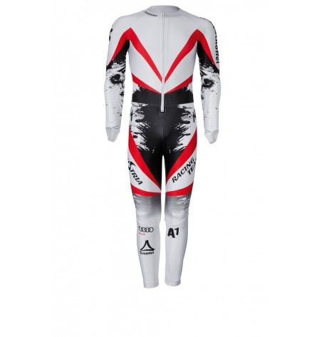 Pre-Order: Race Suit Austrians training adults- The anatomically cut Austrians tracksuit - so you can give it all in training. With the integrated protectors in the arms and legs you're well protected. Be ready for new personal bests and show what you can! This product is pre-order and will be available in early September.