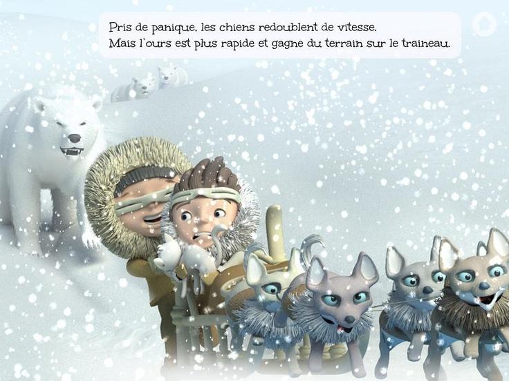 L'aventure polaire de Scott : un livre numérique pour iPhone iPad ou Android !