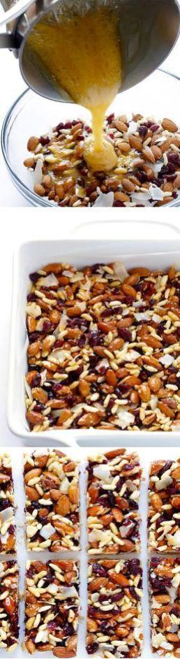 9 Recetas para hacer tus propias barras para la dieta