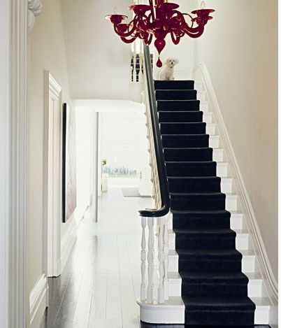 Staircase colour scheme