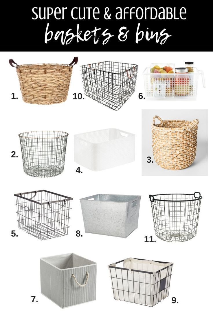 Best Home Organizing Products Storage Baskets Bins And Boxes Super Cute Affo In 2020 Storage Baskets