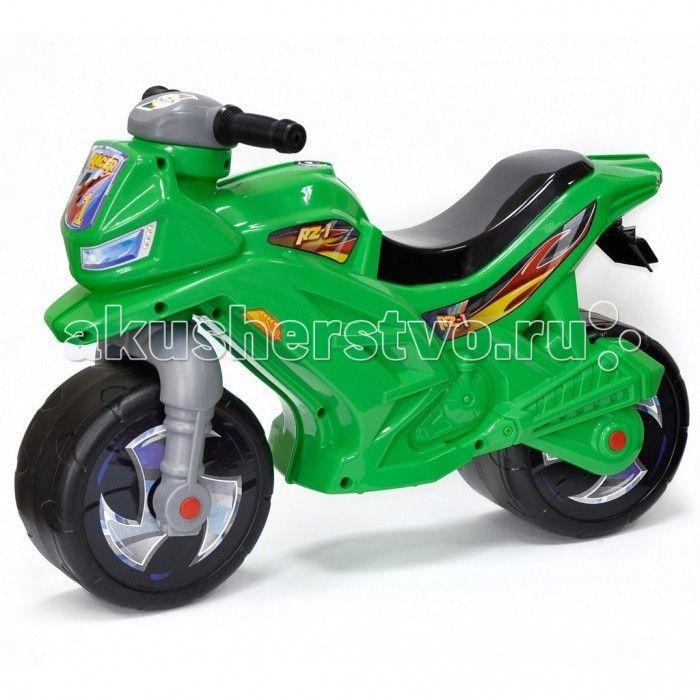 Каталка R-Toys Racer RZ 1  Каталка R-Toys Racer RZ 1 на 2 широких устойчивых колесах.   Особенности: Самое главное в этом беговеле- эргономика форм и размеров. Беговел идеально подойдет детям от 18 месяцев. Они будут пользоваться ею и получать удовольствие от удобства.  Если малыш никогда не катался на подобном транспорте, каталку Racer RZ 1 он освоит очень быстро. Он почувствует как удобно и легко управлять этим беговелом, оценит устойчивость мотоцикла, а дизайн покорит его в первого…