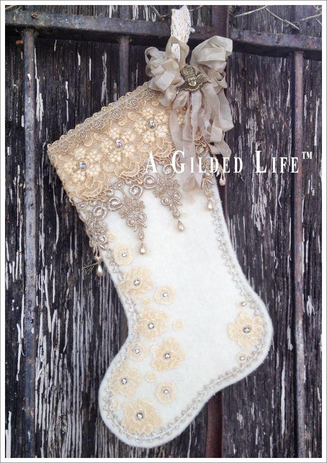 A Gilded Christmas Evening