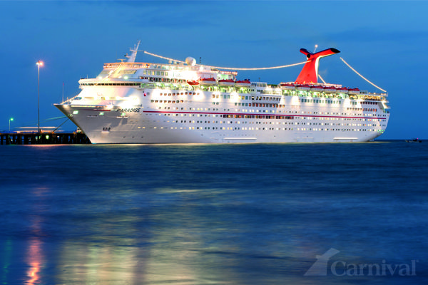 The Carnival Paradise. The ship that started it all for us! Cruise #1 and #2!
