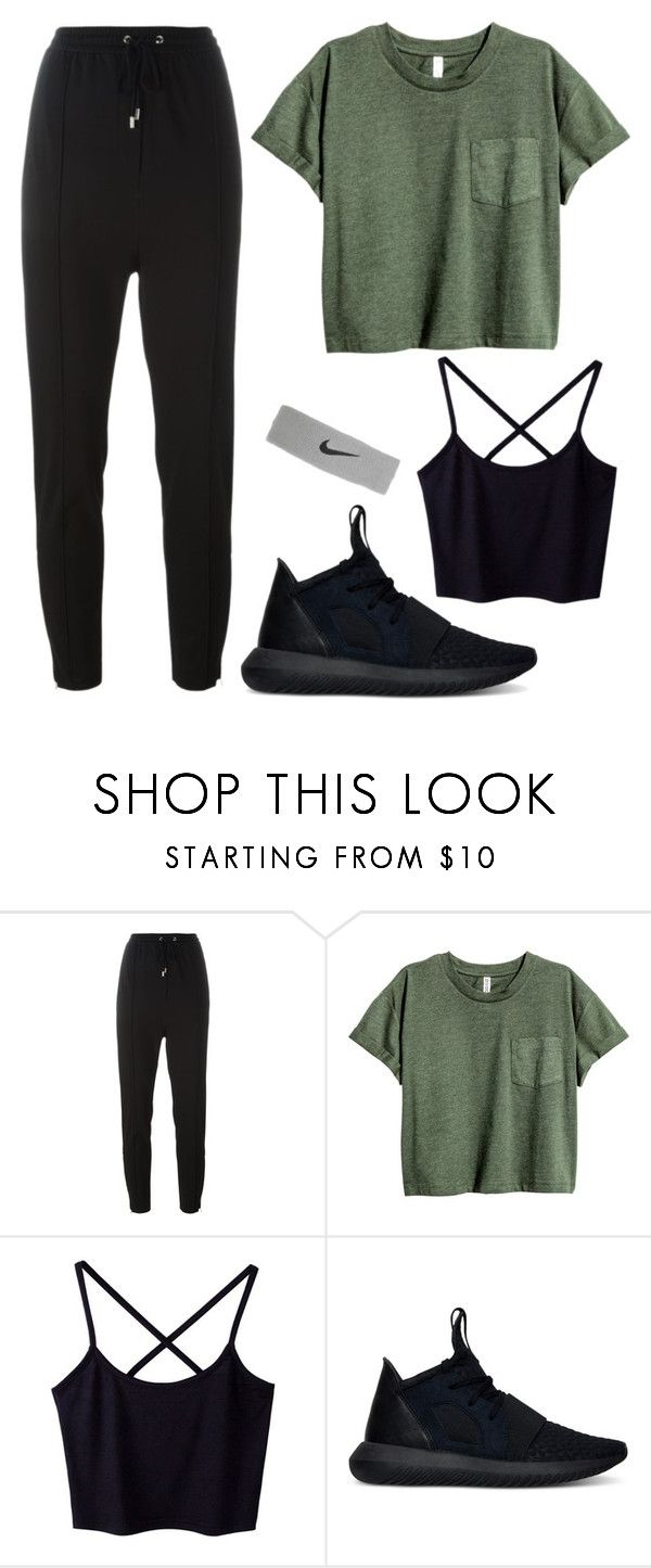 """""""Mingyu X Dance Club"""" by jleeoutfitters ❤ liked on Polyvore featuring Givenchy, adidas and NIKE"""