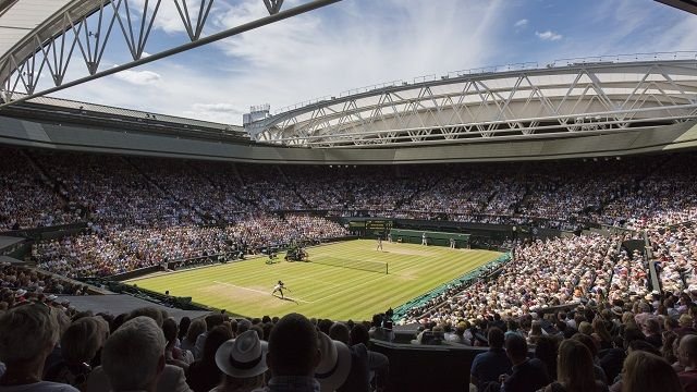 Wimbledon Lawn Tennis Championships 2017----From 3 July 2017 to 16 July 2017. Wimbledon Tickets, In Advance: Book advance tickets for Wimbledon by entering the public ballot, which was first introduced in 1924. The ballot is always oversubscribed, so entry does not entitle you to tickets. Successful applicants are selected at random by computer. It is not possible to request tickets for specific days or courts.