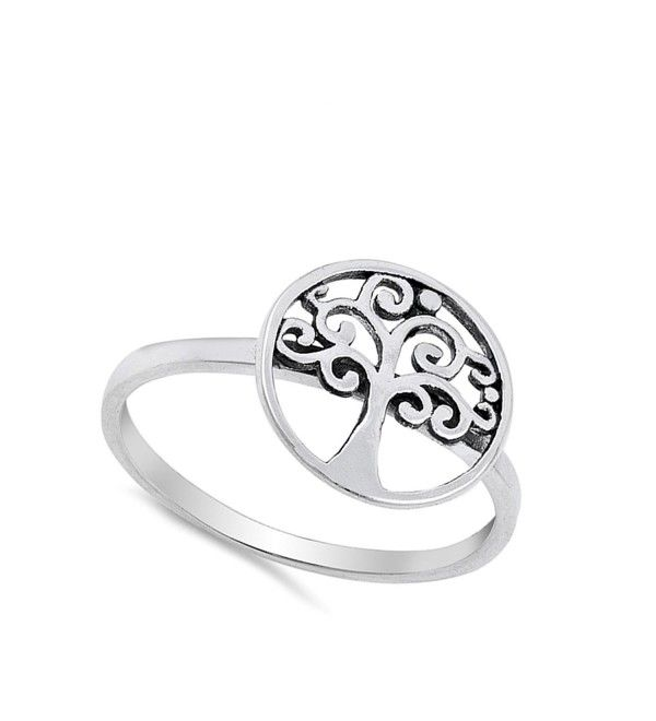 Promise Celtic Triquetra Knot Ring New .925 Sterling Silver Band Sizes 5-10