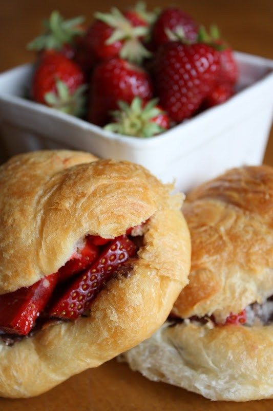 A few years ago, right after we moved into our house, I attended a church function for the ladies' auxiliary where they served these delicious little croissant sandwiches filled with Nutella and fresh strawberries. Everyone in attendance must have fallen as in love with them as I did, because they made an appearance at every... Read More »
