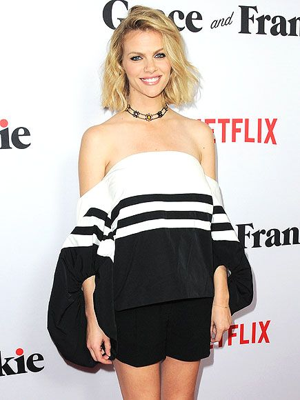 Obsessed or Hot Mess: Vote on These Daring Looks   OFF-THE-BICEP TOPS   Off-the-shoulder? So 2014. Mom-to-be Brooklyn Decker's Rosie Assoulin top hangs super-low and has parachute sleeves to add to the drama.