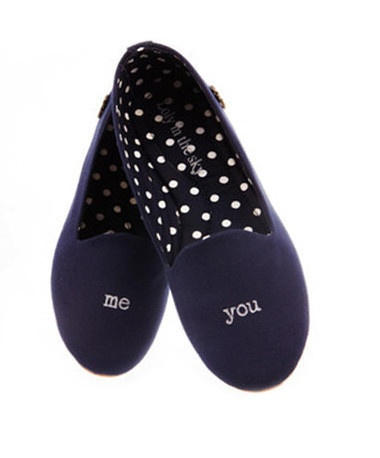 Loly in the Sky — Girl blue flats me and you - Loly in the sky - SpringSummer 2013 Collection
