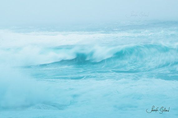 Abstract Ocean Photography newfoundland by DreamsandNotions