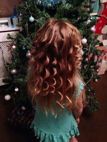 Kt Emr: Tin foil curls