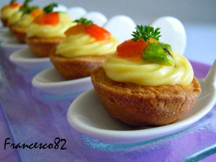 La cucina degli Angeli: Cestini di frolla salata con verdure