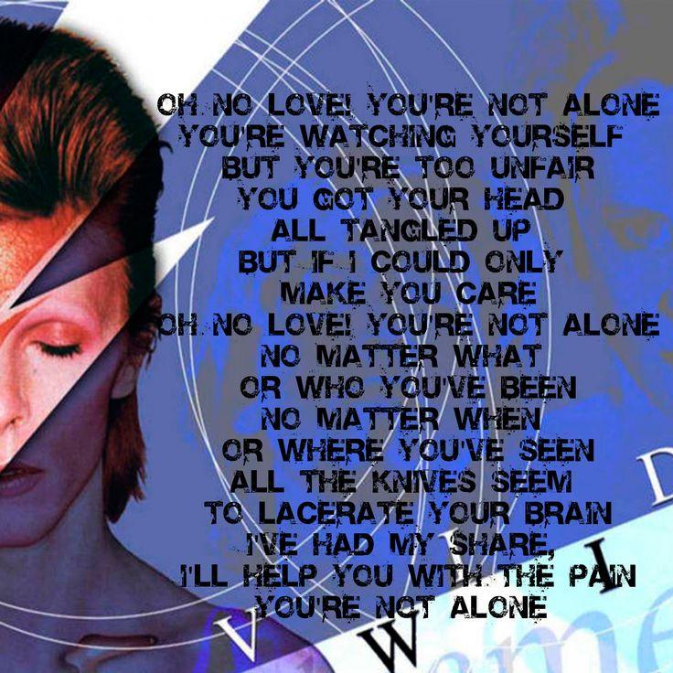 David bowie the voyeur lyrics