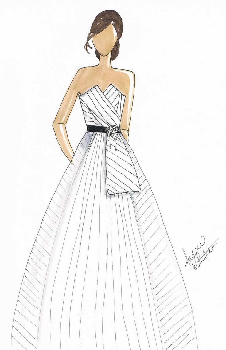 31 best images about orange and black wedding on pinterest With pinstripe wedding dress