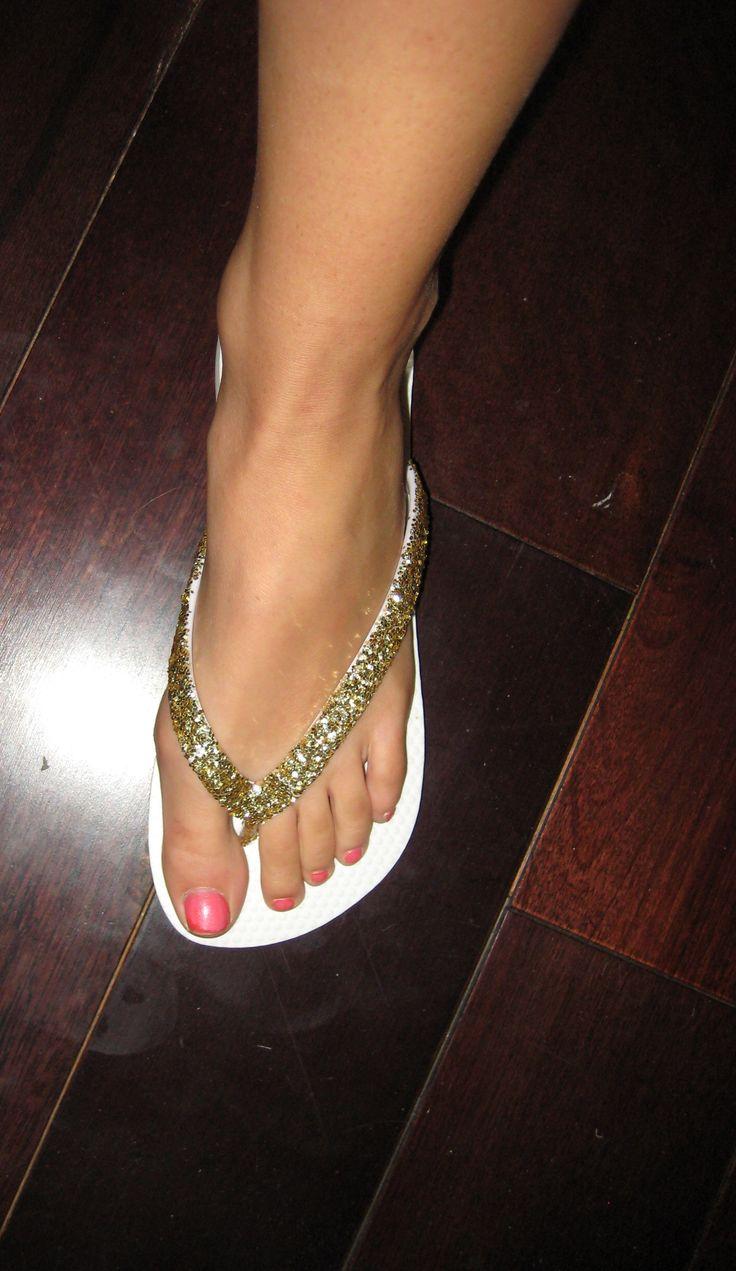 D.I.Y – sparkle flip flops! | Fashionprovocateur's Blog