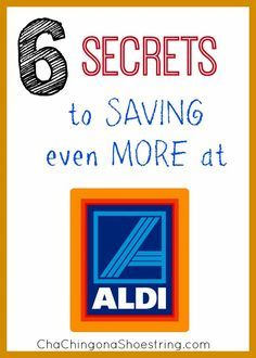 ALDI's prices are so low already. But here are six secrets that you'll want to be aware of to help you save even more. #1 might surprise you!