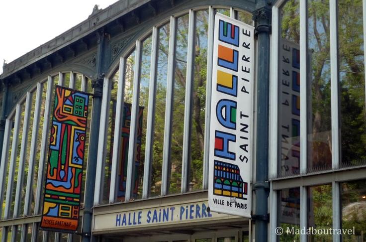 Halle Saint Martin in Montmartre, Paris