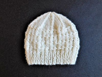 "Angus Baby Hat       Angus Baby Hat  ~   for a large premature / early newborn baby         Size:   Width:    5"" (12.5cm)    11""   (25cm) ..."