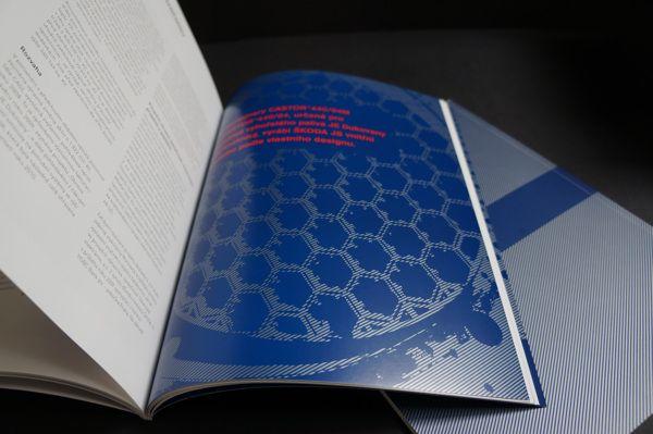 ŠKODA JS - Annual Report 02 by lamrgraphic.com, via Behance