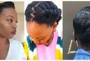 Cheveux sales: coiffures inspirées pour la rentrée scolaire – coiffures et …   – Cheveux Crépus