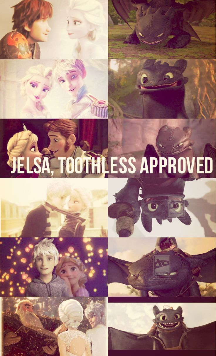 Jelsa. Toothless approved. Guess who made this???ME! Haley Bradson/ ev2142!! Yay!! If you repin please give me credit!