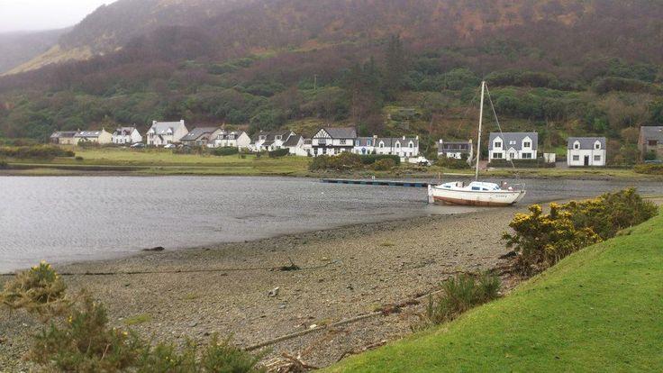 The Isle of Arran, where Ringo spent his childhood.