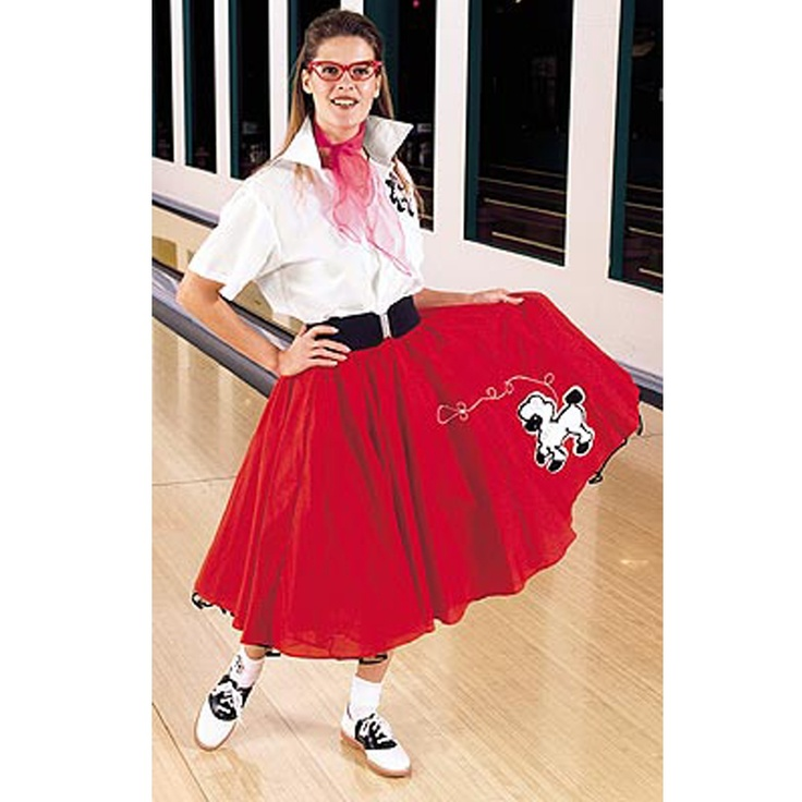 A Real Poodle Skirt Outfit