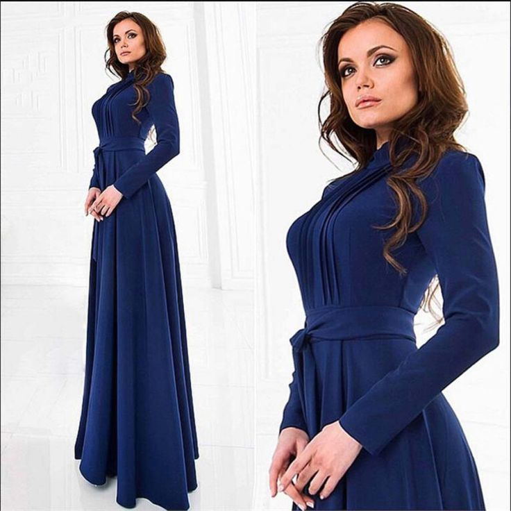 Long Sleeve Womens Dresses Sexy Party Dress Nightclub O-Neck Ladies Winter Maxi Dresses With Belt European Style Dress SMBD084