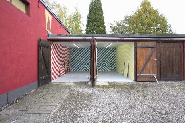 #MarijeVermeulen, Gran Turismo, 2014.#striping #wallpainting #installation-art