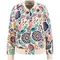 """""""Boden"""" Multi Abstract Floral Bomber Jacket - TK Maxx"""