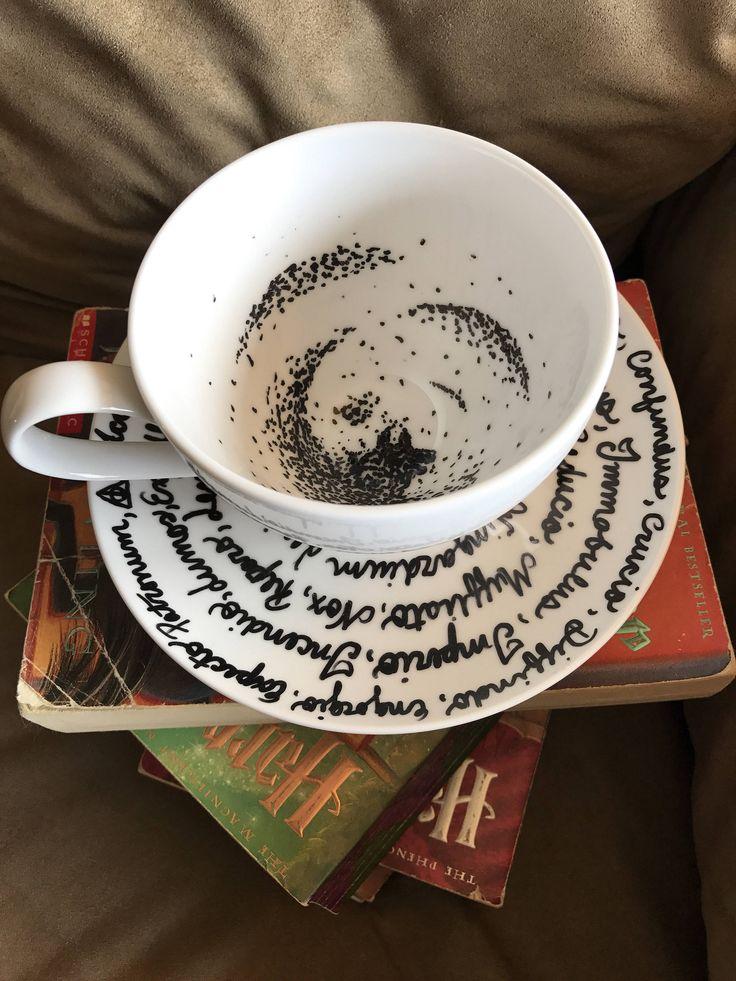 Harry Potter  le sombre inspiration tasse de thé