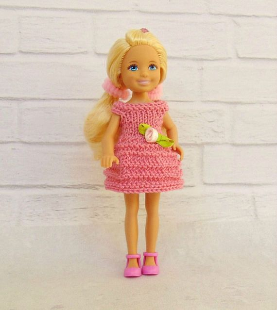 Chelsea doll clothes Chelsea doll dress Barbie sister Kelly