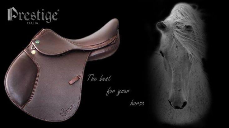 """***NIEUW*** Pony zadel van Prestige! Dubbel leer. Zeer comfortabel! 15"""" black of Tabacco http://www.hetgareel.nl/prestige-pony-new-dubbel-leer-15.html #prestige #pony #zadel #nieuw #chique #mooi  #hetgareel"""
