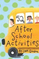 52 After-School Activities