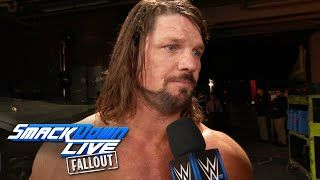 Video: SmackDown Fallout 12/26: AJ Styles Reacts To Shane McMahon Getting Involved In His Match - WrestlingInc.com  ||  SmackDown Fallout 12/26: AJ Styles Reacts To Shane McMahon Getting Involved In His Match http://www.wrestlinginc.com/wi/videos/2017/19114/video-smackdown-fallout-1226-aj-styles-reacts-to-shane-mcmahon/?utm_campaign=crowdfire&utm_content=crowdfire&utm_medium=social&utm_source=pinterest
