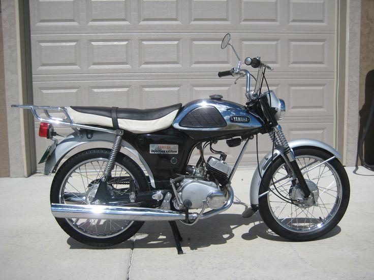 1966 Yamaha YL-1 Twin-Jet, 100cc 2 stroke engine w/4spd Transmission