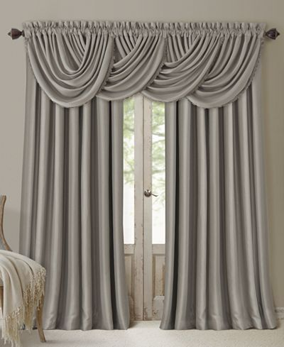 Elrene All Seasons Blackout Rod Pocket/Back Tab 52'' x 84'' Curtain Panel…