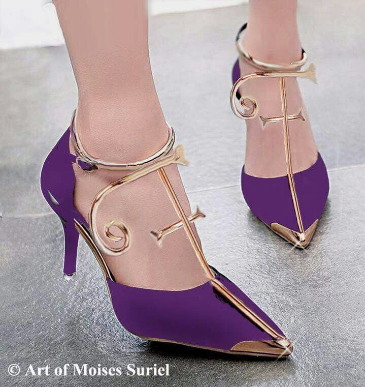 Prince-symbol inspired shoes!!!!!