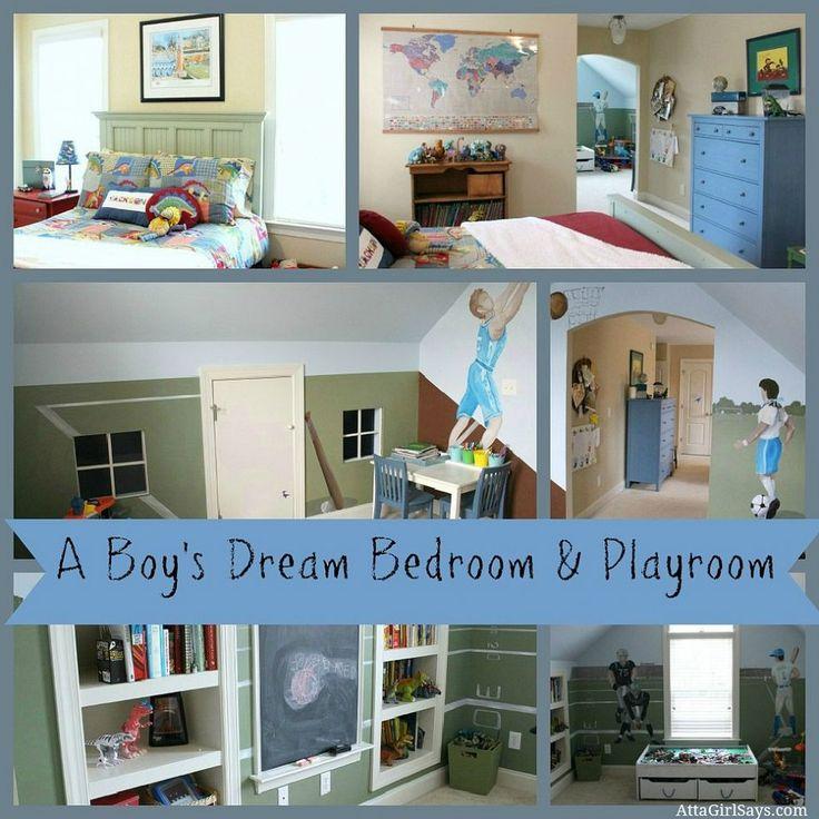 Kids Bedroom And Playroom 196 best design: kids rooms images on pinterest | bedroom ideas