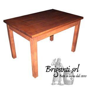 2323 - Tavolo da osteria 80x120 cm codice 040/P